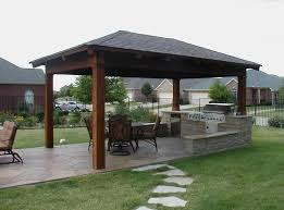outdoor patio kitchen ideas outdoor outdoor kitchen ideas with cladded wall