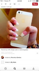 pink and white nails done right yelp nails pinterest