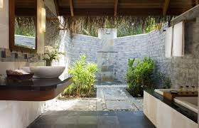 Open Bathroom Concept by Book Your Stay On Water Bungalow Villa U0026 Suite At Sheraton