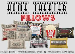 home theater pillows admit one home theater decor color ideas fresh at admit one home