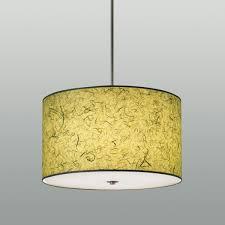 Fabric Drum Pendant Lights Pendant L Contemporary Metal Fabric Drum Drm Ilex