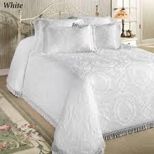 antique medallion matelasse oversized bedspread bedding