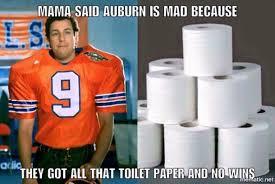 Auburn Memes - wb auburn toilet paper meme all things football pinterest