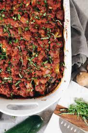 paleo zucchini lasagna whole30