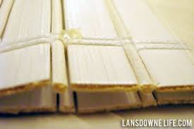 Where Can I Buy Bamboo Blinds How To Shorten Woven Bamboo Shades Lansdowne Life