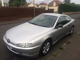 peugeot 406 coupe pininfarina peugeot 406 coupe v6 3 litre automatic silver in corstorphine