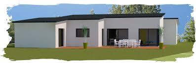 plan maison contemporaine plain pied 3 chambres plan maison de plain pied 3 chambres 9 maison contemporaine toits