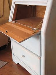 white secretary desk with painting flawed for secretary desk with