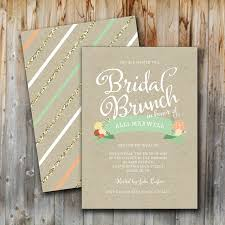 bridal shower brunch invite bridal brunch invitation vintage glitter floral wedding shower