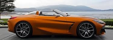what car bmw z4 bmw concept z4 reveal at concours d elegance in pebble