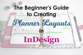 desk planner template the beginner s guide to creating planner pages in indesign youtube