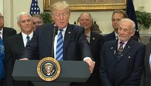 Youtube Whitehouse Buzz Aldrin U0027s Toy Story Joke Flies Over Trump U0027s Head Newshub
