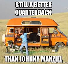 Johnny Manziel Meme - still a better quarterback than johnny manziel uncle rico make a