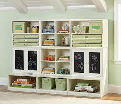 Family Room Cool Bookcases Ideas Cool Kids Storage Idea I Like The Chalkboard Doors Storage