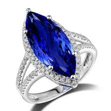 tanzanite stone rings images Antique marquise halo tanzanite ring aaaa with natural diamonds jpg