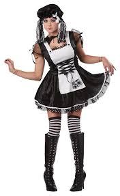 totally ghoul spooky rag doll women u0027s halloween costume
