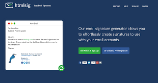 email html signature generator htmlsig com create a free simple
