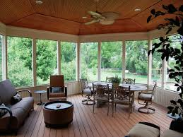 screen porch decorating ideas screened porch flooring best karenefoley porch and chimney ever