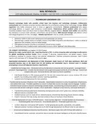 Business Requirements Document Template Pdf Sample Cio Resume Resume For Your Job Application
