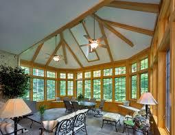 Four Seasons Sunroom Shades Potomac Maryland Exterior Sunroom
