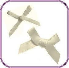 ivory satin ribbon ivory bridal white satin ribbon bows choose 3mm 7mm 15mm 30pk
