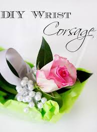 how to make wrist corsage diy wrist corsage duke manor farm