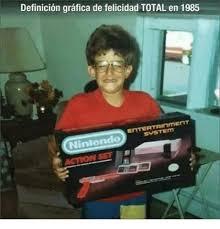 Meme Definicion - definicion grafica de felicidad total en 1985 nintendo meme on