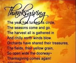 thanksgiving inspirational poems for teachers preschool