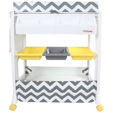 Ebay Changing Table My Babiie Mbchzz Chevron Changing Unit Grey From The Argos Shop