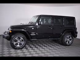 white jeep wrangler unlimited black wheels jeep wrangler unlimited in ohio for sale used cars on