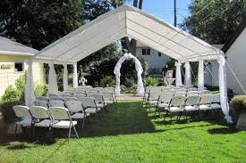 Unique Backyard Wedding Ideas by Triyae Com U003d Backyard Tent Ideas Various Design Inspiration For