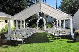Backyard Weddings Ideas Triyae Com U003d Little Backyard Wedding Ideas Various Design
