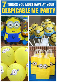 7 things you must have at your despicable me party catch my party