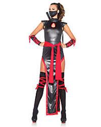 Ninja Costumes Halloween Geishas U0026 Ninjas Womens Costumes Spirithalloween