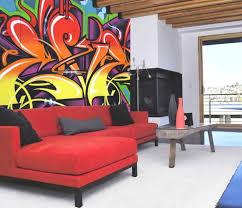 Graffiti Art Home Decor Indoor Graffiti Art For Fascinating Home Decor Also Magnificent