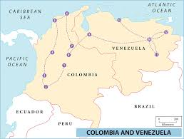 Mexico And South America Map by Printable Travel Maps Of Colombia Moon Travel Guides South