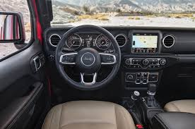 2018 jeep wrangler interior fully revealed 2018 jeep wrangler unlimited sahara first test duality motor trend