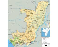 Gabon Map Maps Of Congo Detailed Map Of Congo In English Tourist Map