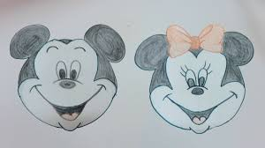 drawing tutorial disney mickey mouse u0026 minnie playdoh cap