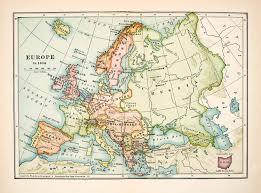 Unlv Map Map Europe 1930 Thefreebiedepot
