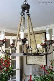 Decorating A Chandelier My Five Favorite Quick U0026 Easy Holiday Decorating Ideas Driven By