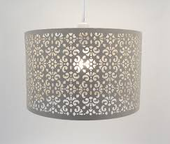 Metal Ceiling Light Shades Marrakesh Large Metal Ceiling Pendant Light Shade Easy Fit Light