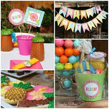 luau birthday party luau birthday party