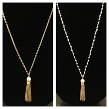 gold tassel necklace images Lily tassel necklace bauble boutique online store powered by jpg