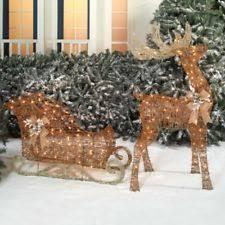 outdoor reindeer decorations outdoor decor at