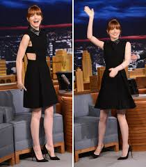 emma stone belts it out in gucci gucci 2014 emma stone and