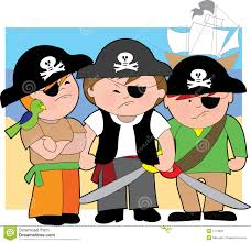 pirate kids of the carribean royalty free stock photo image 1713955