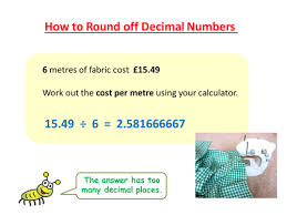 rounding off decimal numbers skillsheets maths resources