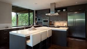 modern houses interior contemporary interior kitchen design by kelly deck image pictures