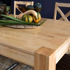 natural unfinished dining tables hayneedle